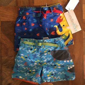 Boys Candlesticks Swim Trunks